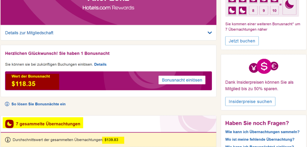 Mein Hotels.com